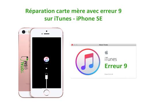 iPhone-SE-reparation-probleme-erreur-9-sur-itunes