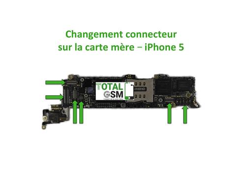 iPhone-5-changement-connecteur-carte-mere