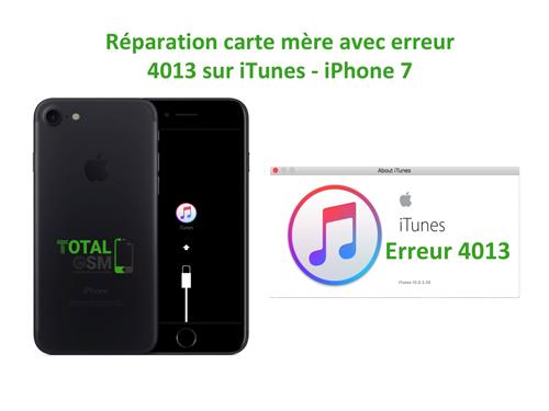 iPhone-7-reparation-probleme-erreur-4013-sur-itunes
