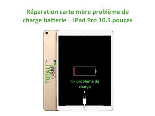 iPad Pro 10.5 pouces reparation probleme de charge