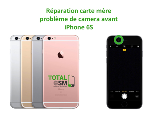 iPhone-6s-reparation-probleme-de-camera-avant