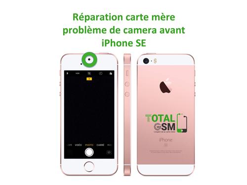 iPhone-SE-reparation-probleme-de-camera-avant