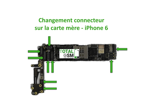 iPhone-6-changement-connecteur-carte-mere