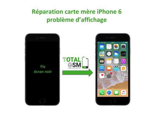 iPhone 6 probleme de affichage