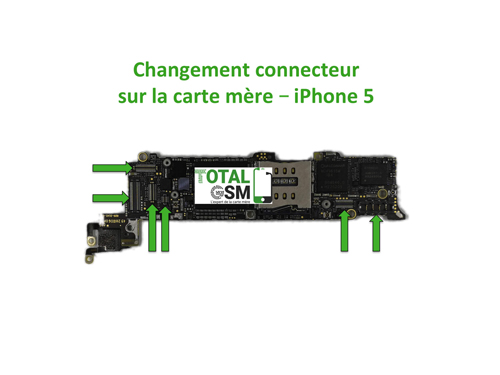 iPhone-5-changement-connecteur-carte-mere