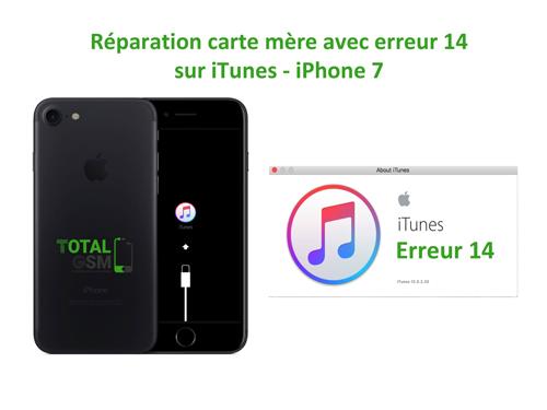 r paration apple iphone 7 reparation carte mere pour mobiles france. Black Bedroom Furniture Sets. Home Design Ideas