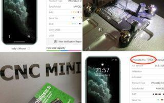 Augmentation de la capacité de stockage (mémoire) iPhone 11 PRO de 64 à 512 Go