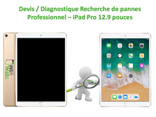DEVIS ipad pro 12.9 pouces