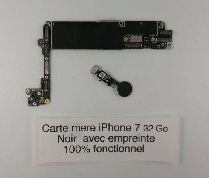 carte mere iPhone 7 32Go