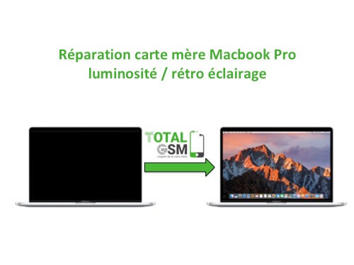 Macbook Pro probleme Retro eclairage