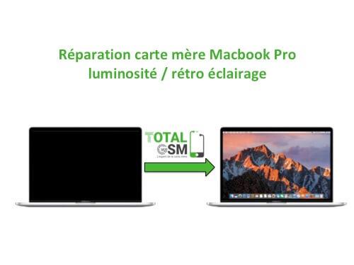 Macbook Pro probleme Retro eclairage