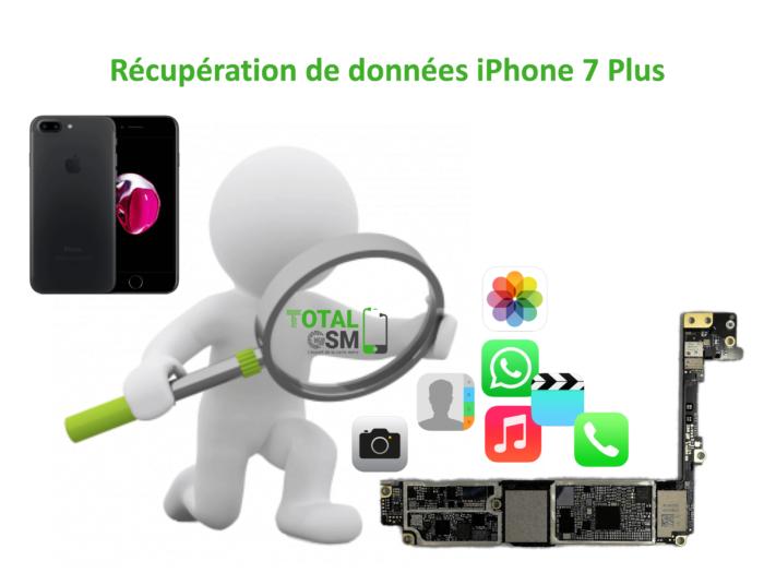 Récupération de données iphone 7 plus