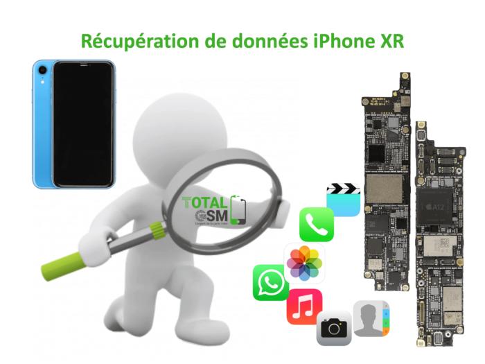 Récupération de données iphone xr