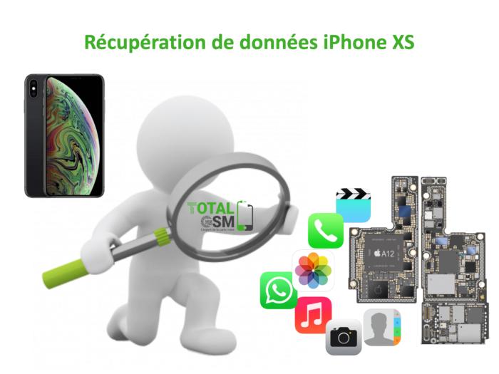 Récupération de données iphone xs
