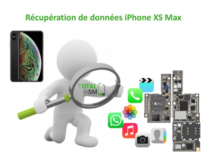 Récupération de données iphone xs MAX