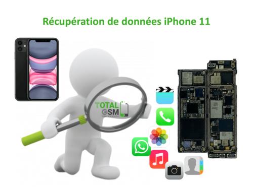 Récupération de données iphone 11