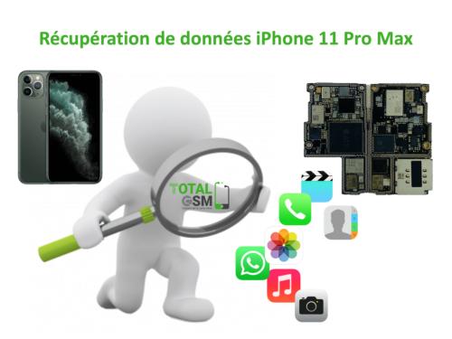 Récupération de données iphone 11 pro max