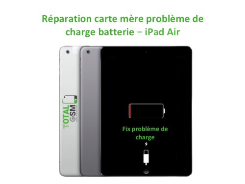 iPad Air reparation probleme de charge