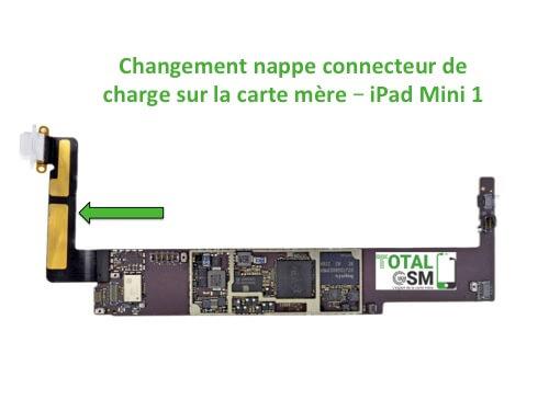 iPad Mini 1 changement connecteur de charge