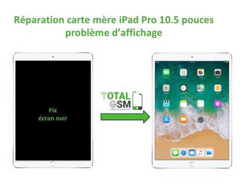 iPad Pro 10.5 pouces reparation probleme d'affichage