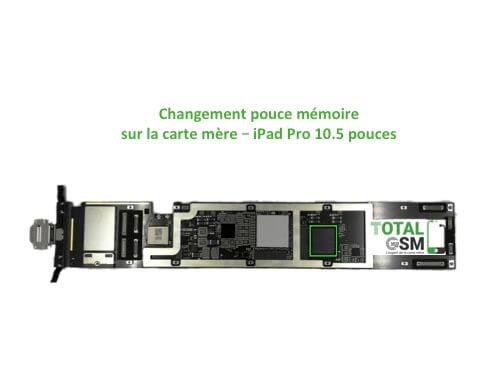 iPad Pro 10.5 pouces reparation probleme de memoire