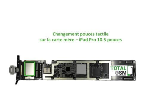 iPad Pro 10.5 pouces reparation probleme de tactile