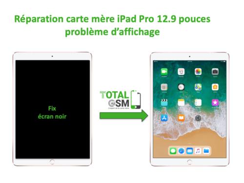 iPad Pro 12.9 pouces reparation probleme d'affichage