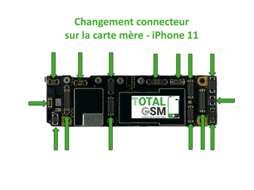 iPhone-11-changement-connecteur-carte-mere