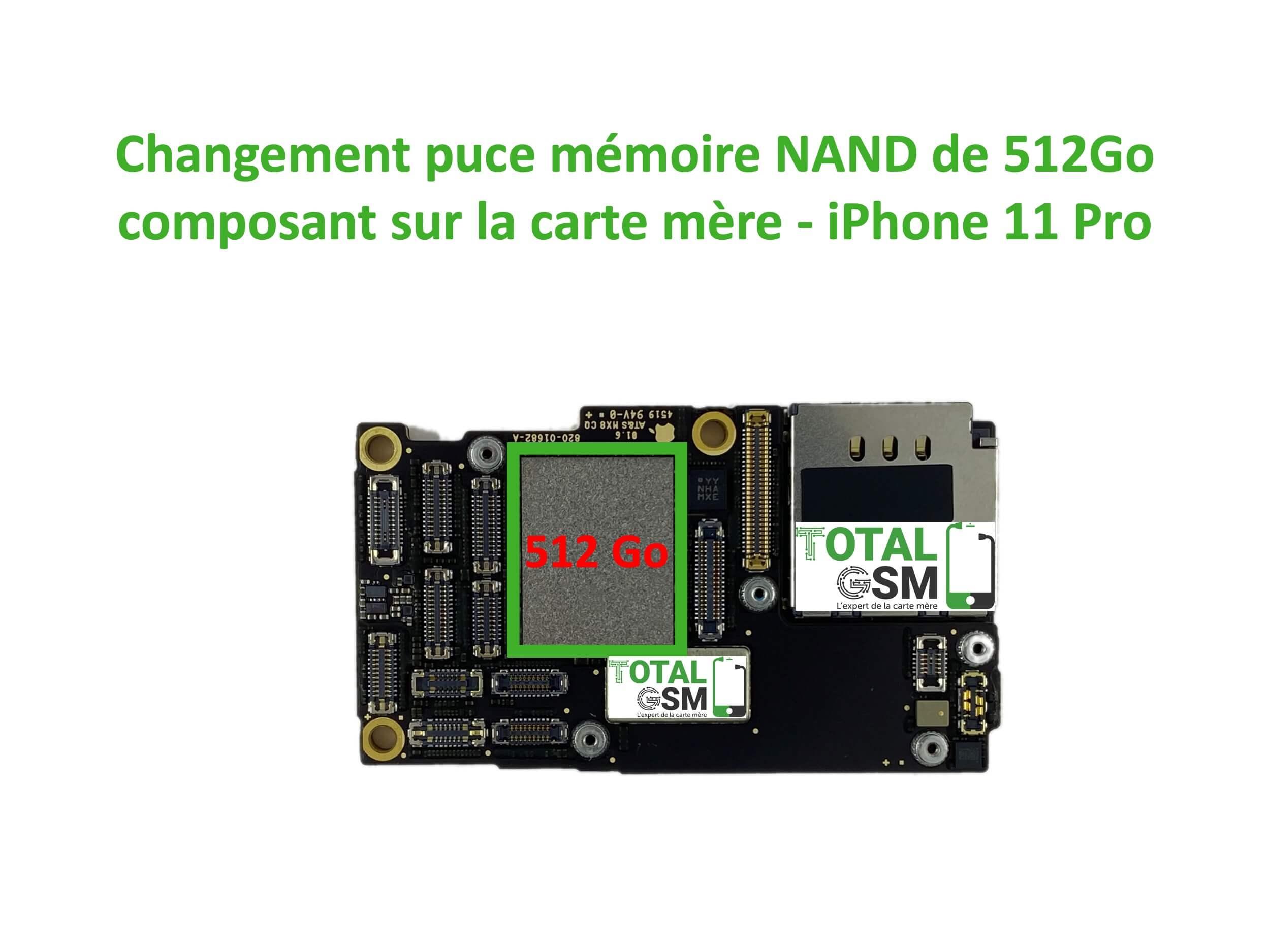 iPhone 11 pro 512go