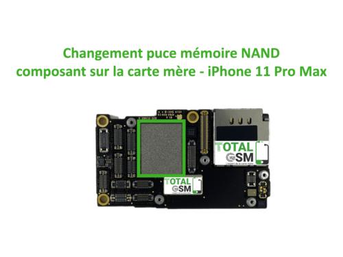 iPhone-11-pro-max-reparation-probleme-de-MEMOIRE