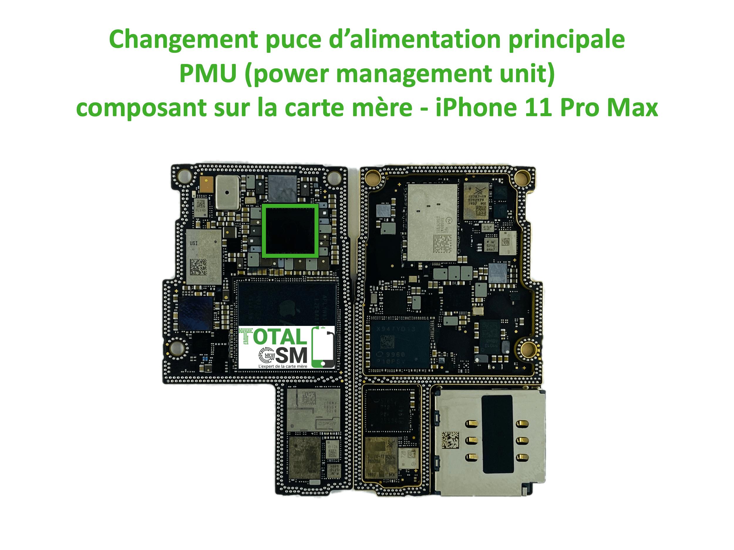 iPhone-11-pro-max-reparation-probleme-de-PMU