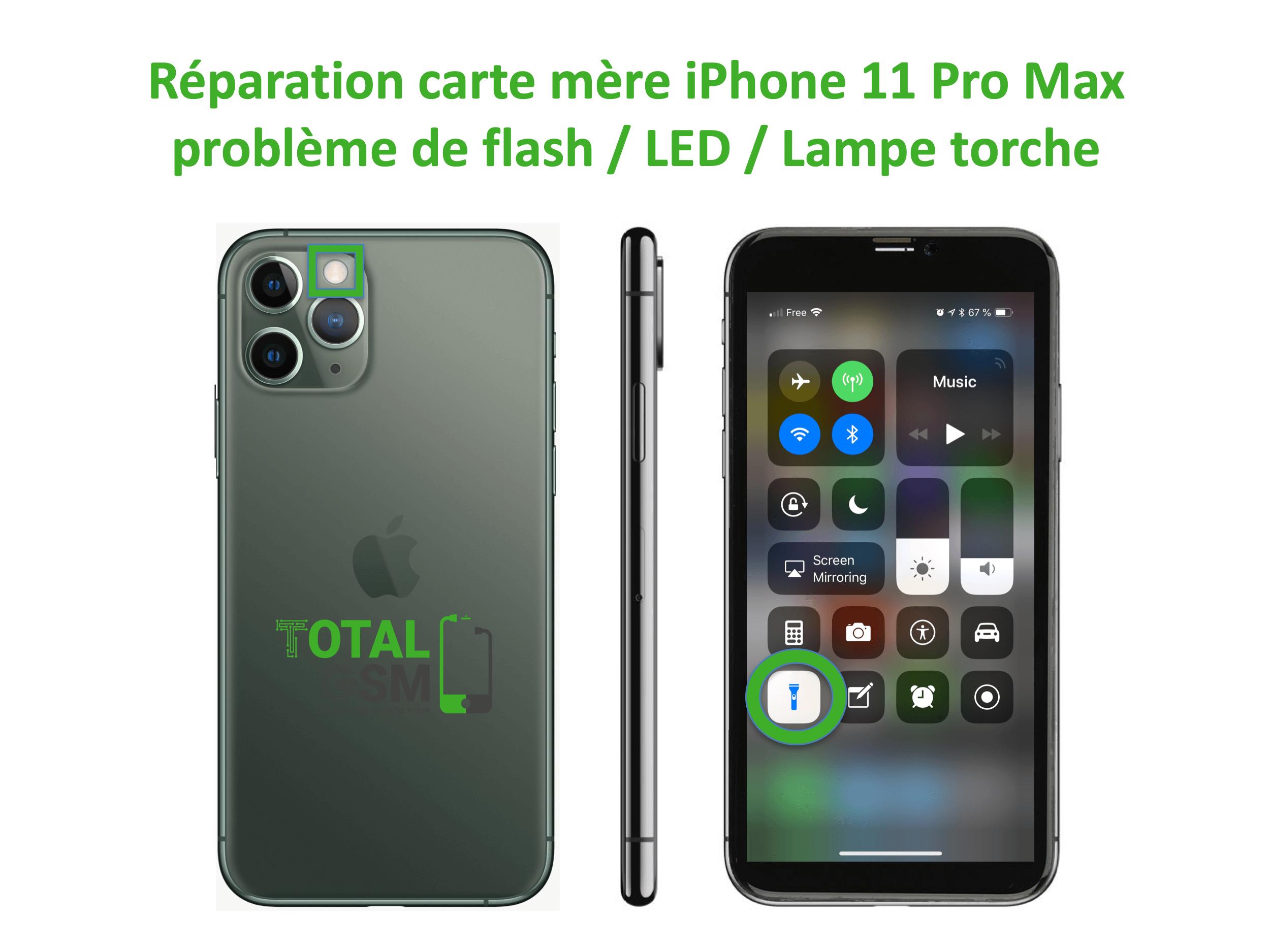 iPhone-11-pro-max-reparation-probleme-de-led