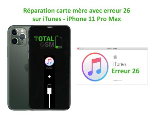 iPhone-11-pro-max-reparation-probleme-erreur-26-sur-itunes