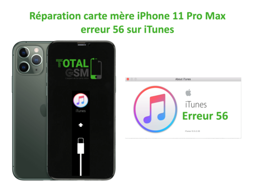 iPhone-11-pro-max-reparation-probleme-erreur-56-sur-itunes