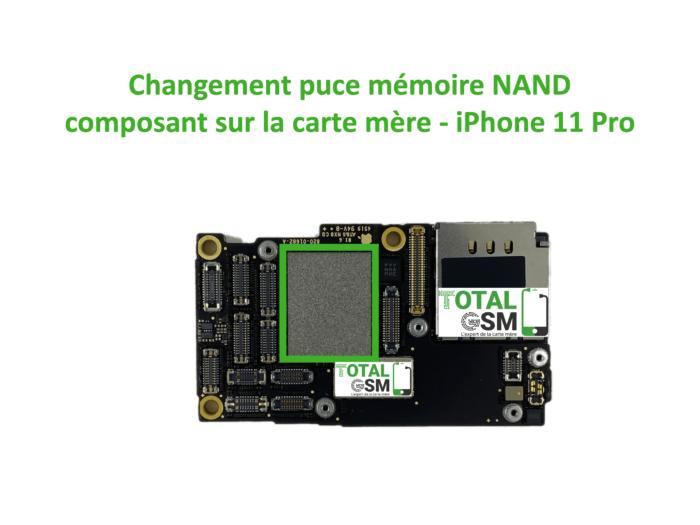 iPhone-11-pro-reparation-probleme-de-MEMOIRE