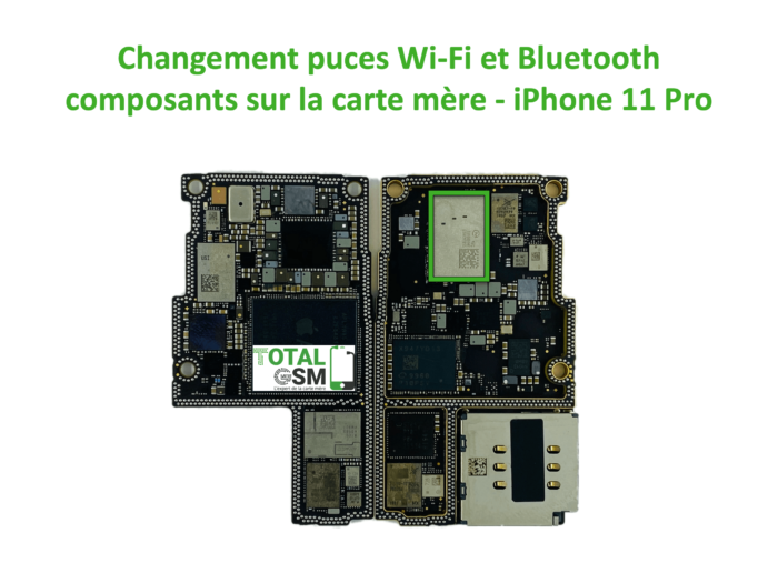 iPhone-11-pro-reparation-probleme-de-WIFI-Bluetooth