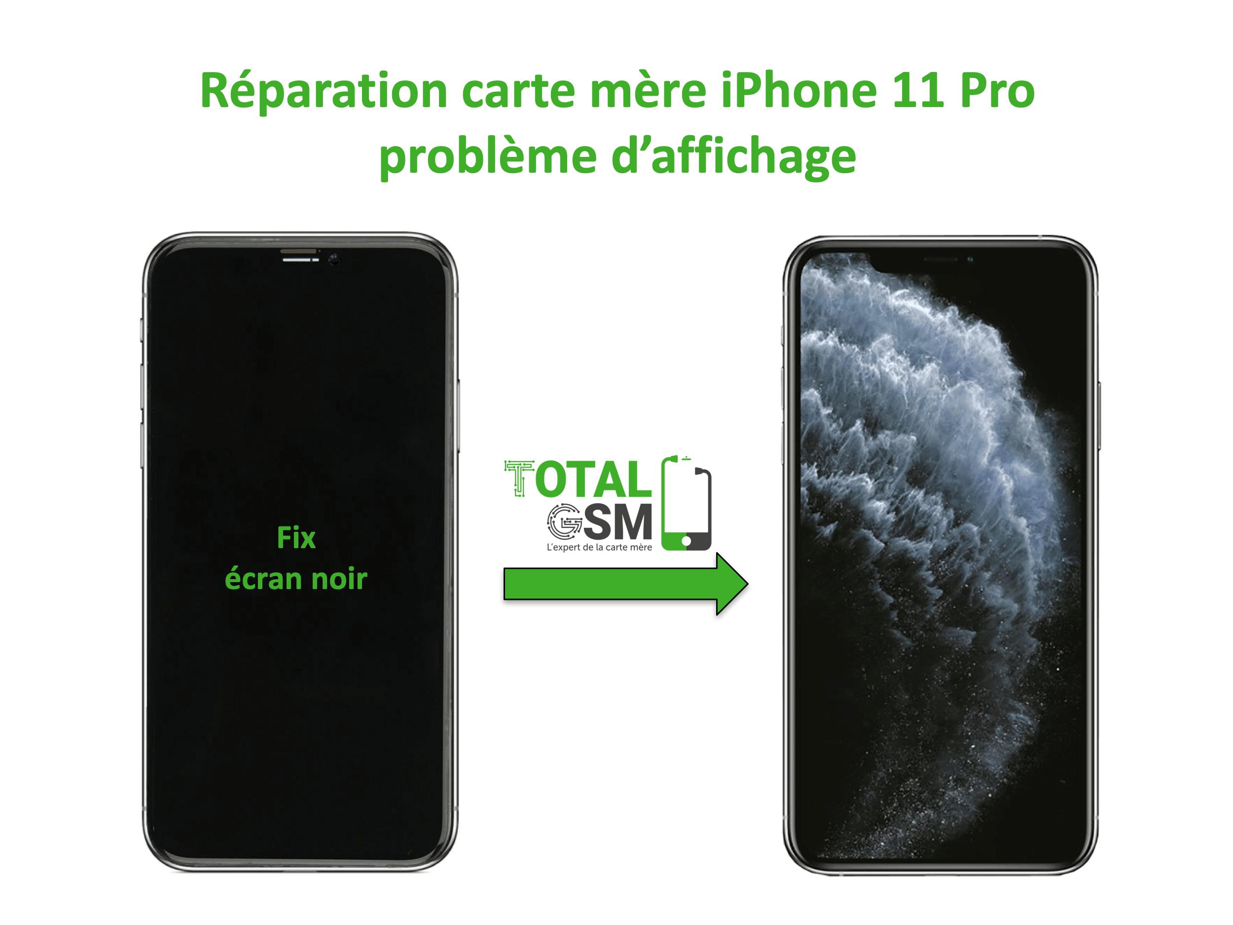iPhone-11-pro-reparation-probleme-de-affichage