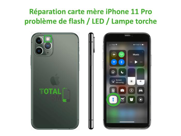 iPhone-11-pro-reparation-probleme-de-led