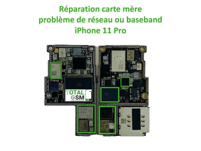 iPhone-11-pro-reparation-probleme-de-reseaux-baseband