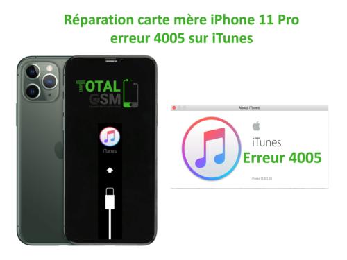 iPhone-11-pro-reparation-probleme-erreur-4005-sur-itunes