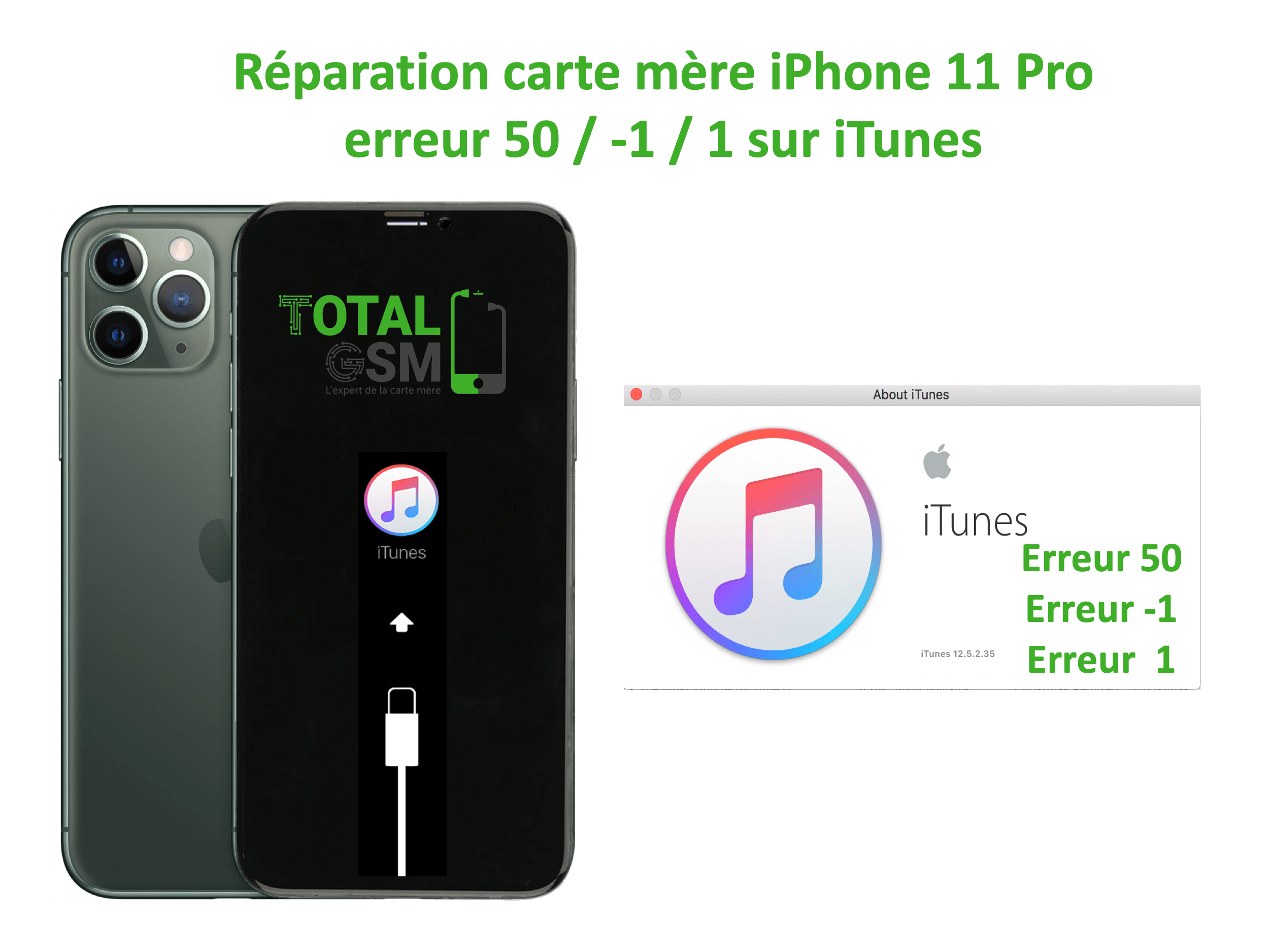 iPhone-11-pro-reparation-probleme-erreur-50 -1 1-sur-itunes