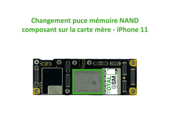 iPhone-11-reparation-probleme-de-MEMOIRE