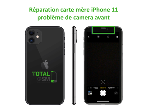 iPhone-11-reparation-probleme-de-camera-avant