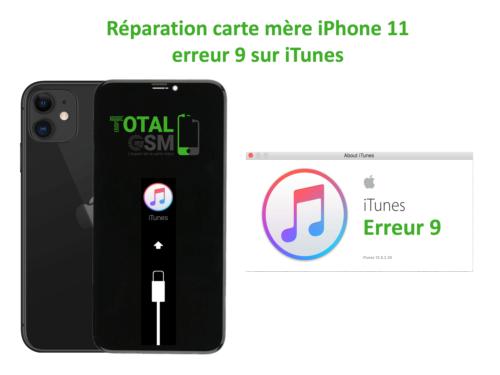 iPhone-11-reparation-probleme-erreur-9-sur-itunes