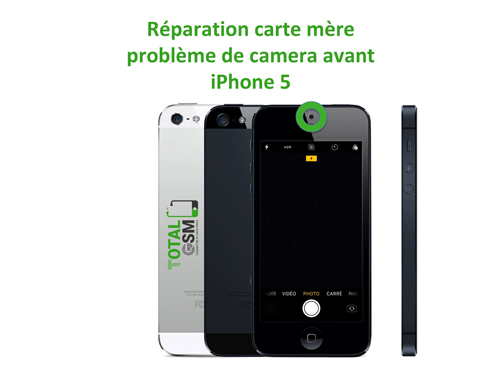 iPhone-5-reparation-probleme-de-camera-avant