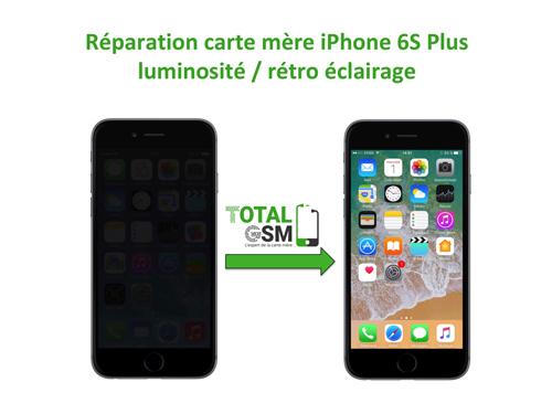 iPhone-6s-Plus-probleme-de-retro-eclairage