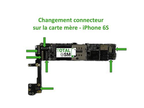 iPhone-6s-changement-connecteur-carte-mere