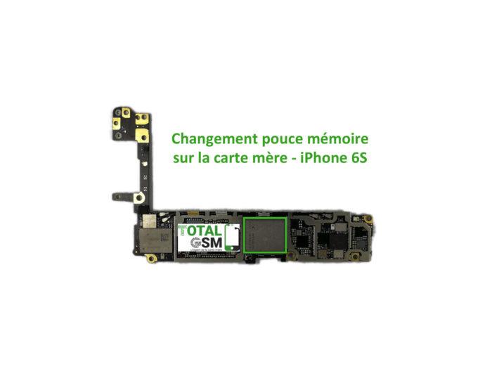 iPhone 6s reparation probleme de memoire
