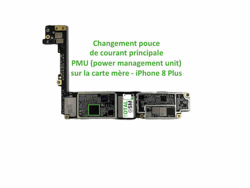 iPhone-8-Plus-reparation-probleme-de-PMU