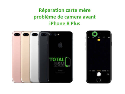 iPhone-8-Plus-reparation-probleme-de-camera-avant